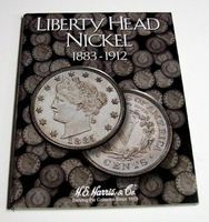 HE-Harris Liberty Head Nickel 1883-1912 Coin Folder Coin Collecting Book and Supply #2677