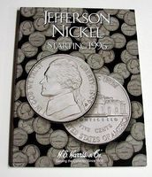 HE-Harris Jefferson Nickel 1996-2002 Coin Folder Coin Collecting Book and Supply #2681