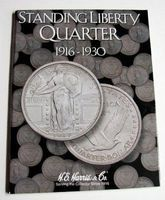 HE-Harris Standing Liberty Quarter 1916-1930 Coin Folder Coin Collecting Book and Supply #2687