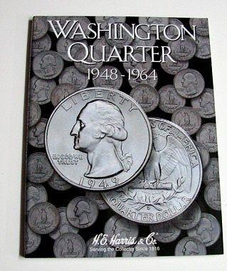 New H.E HARRIS MERCURY HEAD SILVER DIMES Whitman Folder Coin Album #2683