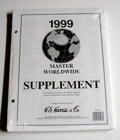 HE-Harris 1999 Master World Wide Stamp Album Supplement (D) Stamp Collecting Supply #hrs102