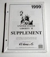 HE-Harris 1999 US Liberty II Stamp Album Supplement (D) Stamp Collecting Supply #hrs99