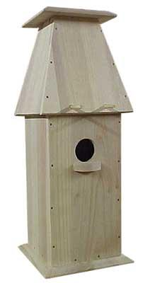 Hobby-Express Chalet Bird House Kit Wooden Bird House Kit #60008