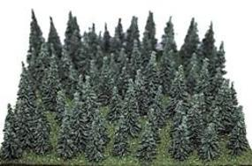 Heki Assorted Pine Trees 1-1/2 - 3 3.8-7.6cm pkg(100)