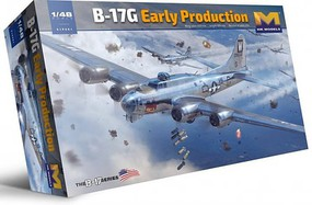 HK-Models 1/48 B17G Flying Fortress Heavy Bomber (New Tool)