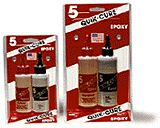 Hobbylinc QUICK CURE 5 Minute Epoxy (9oz) -- Hobby Epoxy -- #202