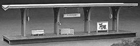 Heljan Short Passenger Platform Kit HO Scale Model Railroad Structure #121