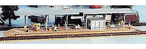 Heljan Long Passenger Platform Kit HO Scale Model Railroad Building #1753