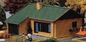 Heljan Tract House Kit HO Scale Model Railroad Building #1772