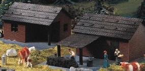 Heljan Cottage Kit pkg(2) HO Scale Model Building #1792