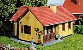 Heljan Tract House w/Terrace Kit HO Scale Model Railroad Building #213