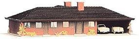 Heljan Ranch House w/Attached Garage Kit HO Scale Model Railroad Building #218