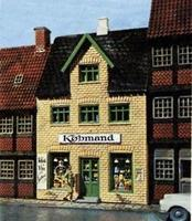 Heljan Small Retail Store Kit HO Scale Model Model Railroad Building #462