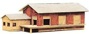 Heljan Small Freight Station Kit N Scale Model Building #641