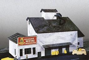 Heljan Feed Mill Kit N Scale Model Railroad Building #670