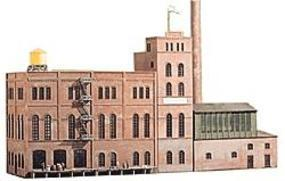 Heljan Brewery Malt House Kit HO Scale Model Building #807