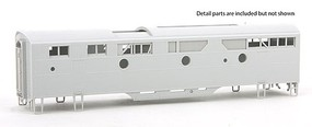 Highliner F-Unit B Shell w/Grilles