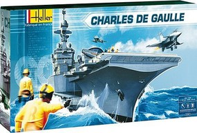 Heller 1/400 Charles De Gaulle French Aircraft Carrier