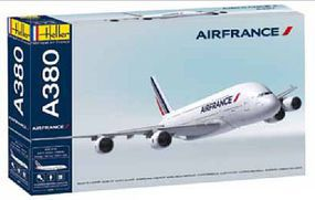 Heller A380 Air France Commercial Airliner Plastic Model Airplane Kit 1/125 Scale #52908