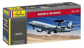 Heller E3B AWACS USAF Aircraft Plastic Model Airplane Kit 1/72 Scale #80308