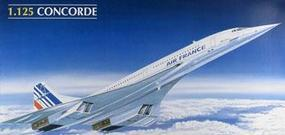 Heller Concorde Air France Airliner Plastic Model Airplane Kit 1/125 Scale #80445
