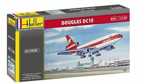 Heller DC10 aeromexico Passenger Airliner Plastic Model Airplane Kit 1/125 Scale #80460