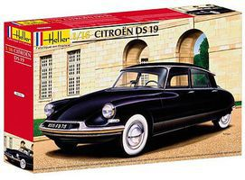 Heller Citroen DS19 Sports Car Plastic Model Car Kit 1/16 Scale #80795