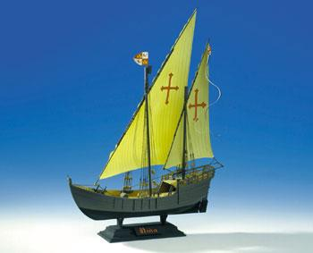 Heller Nina Sailing Ship Plastic Model Sailing Ship Kit 1/75 Scale #80815