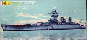 Heller Dunkerque French Battleship Plastic Model Military Ship Kit 1/400 Scale #81073
