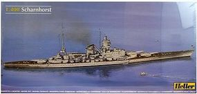 Heller Scharnhorst German Battleship Plastic Model Military Ship Kit 1/400 Scale #81085