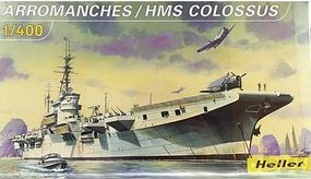 Heller HMS Colossus/ Arromanches Aircraft Carrier Plastic Model Military Kit 1/400 Scale #81090