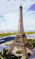 Heller Eiffel Tower Plastic Model Diorama 1/650 Scale #81201