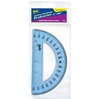 Helix-Art 6'' 180-Degree Professional Plastic Protractor