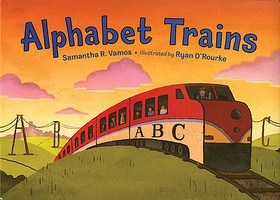 Heimburger Alphabet Trains by Samantha R. Vamos Ages 3-7 years