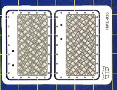 Highlight 1/24-1/25 VW Beetle Interior Aluminum Door panels for TAM