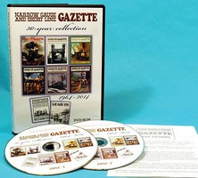 Hundman Narrow Gauge and Shortline Gazette 50 Years 1964-2014 DVD Archive 2 Disc Set, Mac or PC Compatible