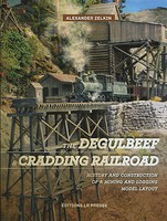 Hundman The Degulbeef & Cradding Railroad- Route of the Dinosaurs Hardcover Book, 192 Pages w/20 Minute DVD Included