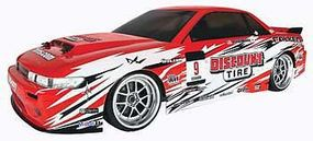 Hobby-Products-Intl RTR E10 Drift w/Discount Tire/Falken Nissan S13