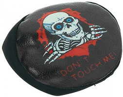 HOT-RACING 1/10 Skull Don't Touch Me Spare Tire Cover