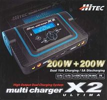 Hitec Ultima X2 Dual Port Charger