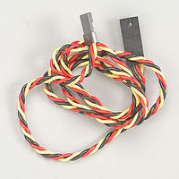 Hitec 6 Hvy Gge Twisted Wire Y Harness w/Pins