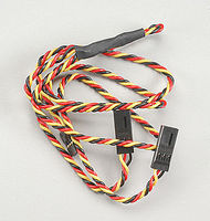 Hitec 24 Hvy Gge Twisted Wire Y Harness w/Pins