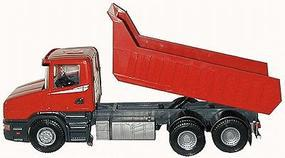 Herpa Scania T Dump Truck red - G-Scale