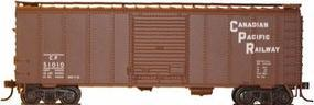 Herpa 40 NSC Boxcar Canadian Pacific (block lettering) HO Scale Model Train Freight Car #12001