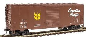 Herpa 40 NSC Rebuilt Boxcar Canadian Pacific Railway HO Scale Model Train Freight Car #12022