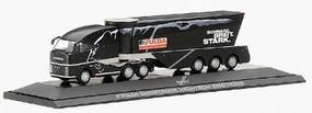 Herpa MAN 3-Axle Streamlined Cabover - w/Special 3-Axle HO Scale Model Railroad Vehicle #120319