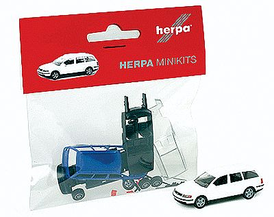 Herpa Models Minikit Volkswagen Passat Station Wagon - Kit -- HO Scale Model Railroad Vehicle -- #12249
