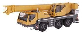 Herpa Mobile Cranes - Liebherr LTM 1045/1 3-Axle Truck Crane HO Scale Model Railroad Vehicle #150231