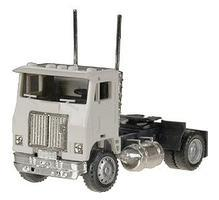 Herpa Road Commander Cabover w/Single Rear Axle - Unpainted HO Scale Model Railroad Vehicle #15236
