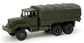 Herpa M54A2 LKW 5-Ton 6x6 Cargo Truck w/Canvas Cover HO Scale Model Railroad Vehicle #192